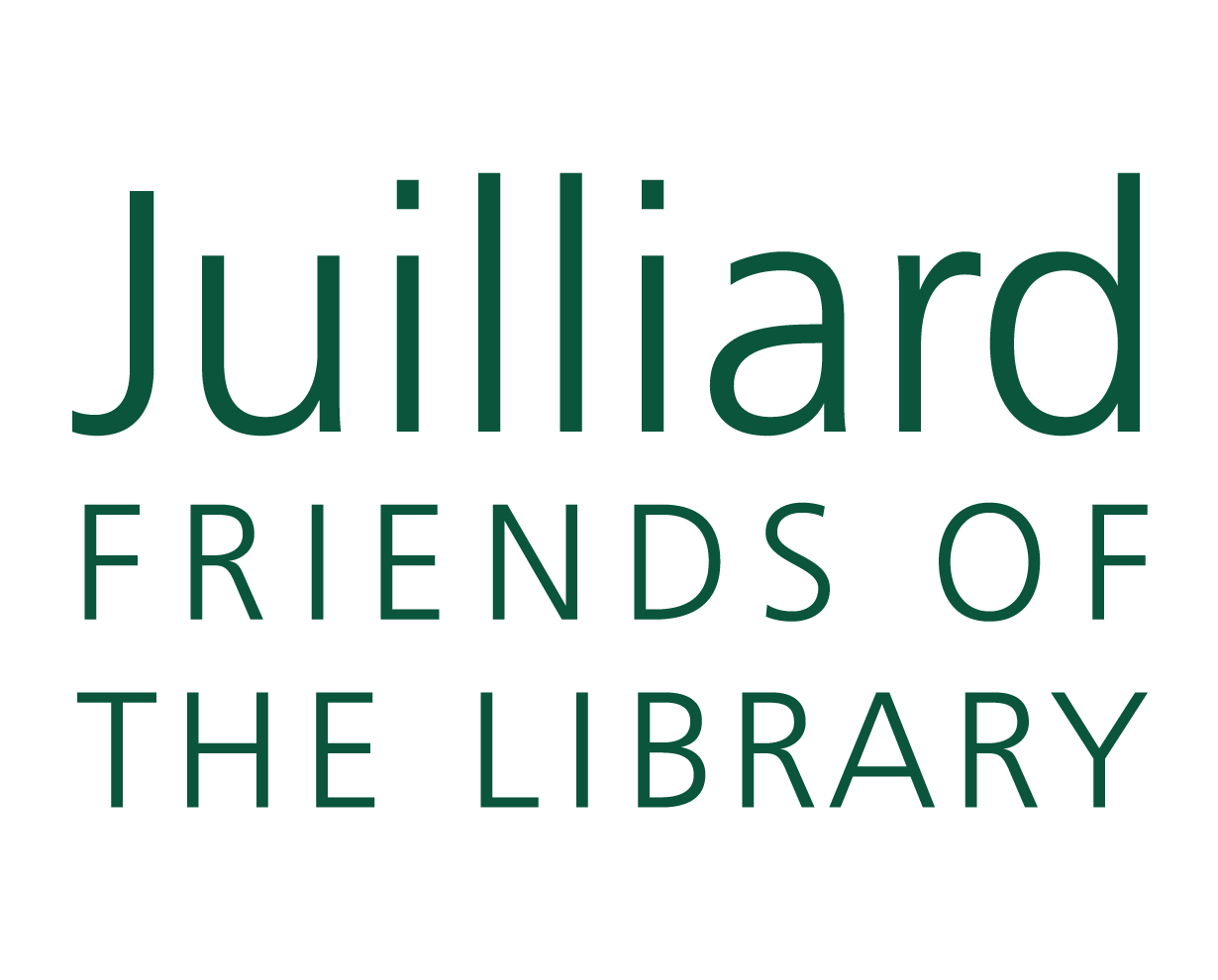 Juilliard Friends of the Library Logo